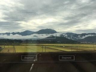 雲と山の写真・画像素材[3743519]