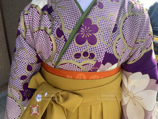 袴の写真・画像素材[4258441]