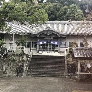 牟岐の八幡神社の写真・画像素材[3747536]
