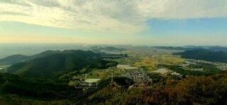 高御位山からの眺めの写真・画像素材[3747560]