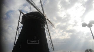 風車の写真・画像素材[3751620]