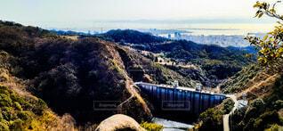 丘の中腹の近くの写真・画像素材[4220151]