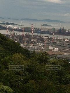 水島臨海工業地帯の写真・画像素材[3828727]
