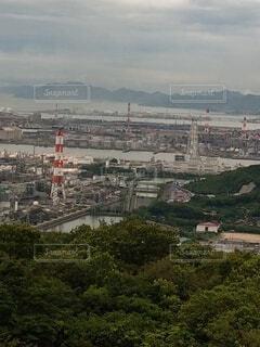 水島臨海工業地帯の写真・画像素材[3828786]