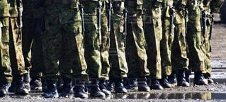 陸上自衛隊  普通科隊員の写真・画像素材[3758052]