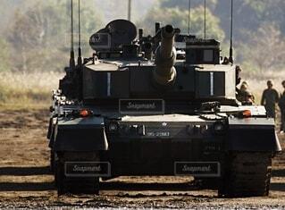 陸上自衛隊 90式戦車の写真・画像素材[3758056]