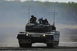 陸上自衛隊  90式戦車の写真・画像素材[3758089]