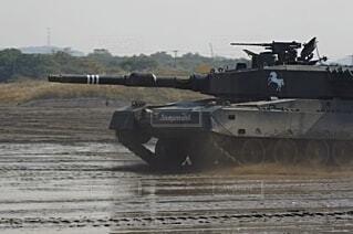 陸上自衛隊 90式戦車の写真・画像素材[3758127]