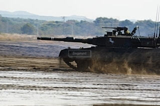 陸上自衛隊 90式戦車の写真・画像素材[3758141]