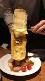ラクレットチーズおいしかったあ!の写真・画像素材[1019973]