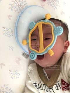 遊ぶ赤ちゃんの写真・画像素材[3872276]