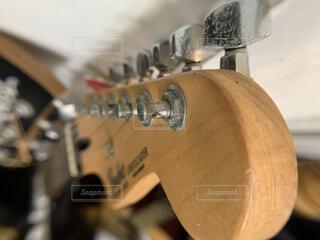 ギターのクローズアップの写真・画像素材[3791462]