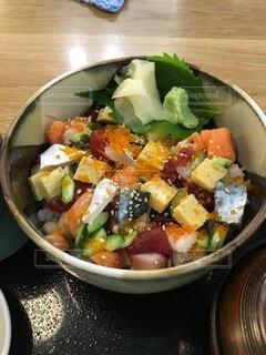 海鮮丼2の写真・画像素材[3793235]