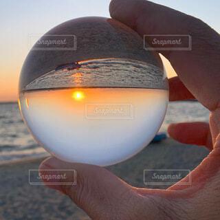 夕日の写真・画像素材[3888616]
