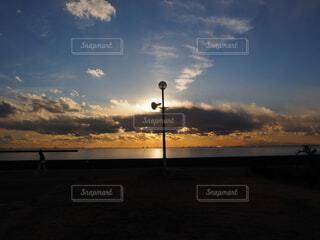 夕暮れの時間の写真・画像素材[4034936]