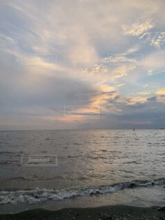 夕焼け空の写真・画像素材[4800571]