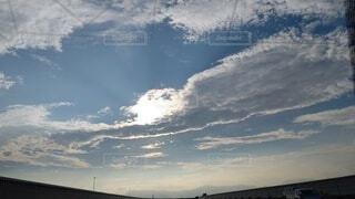 空の雲の群の写真・画像素材[3766631]