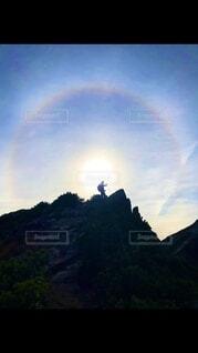 空の目とこんにちはの写真・画像素材[3767450]