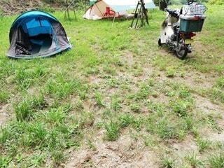 キャンプの写真・画像素材[3776262]