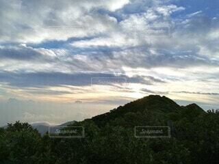 大山からの眺望の写真・画像素材[3853132]