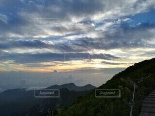 大山からの眺望の写真・画像素材[3853156]