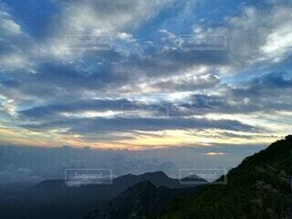 大山からの眺望の写真・画像素材[3853213]