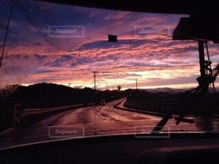 雨上がりの空の写真・画像素材[3801396]