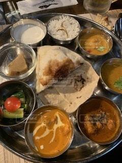 南インド料理 ミールスの写真・画像素材[3785412]