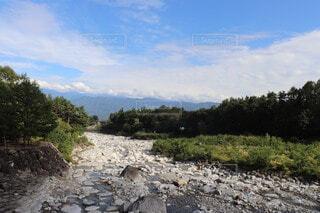 岩の道の写真・画像素材[3781142]