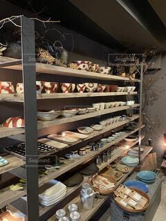 素敵な食器の写真・画像素材[4153483]