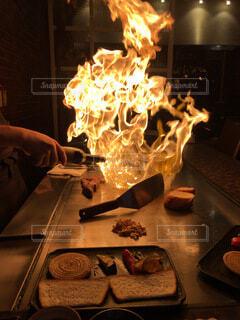 特別な日のディナーの写真・画像素材[3785511]