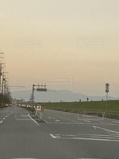 道路のクローズアップの写真・画像素材[3870364]