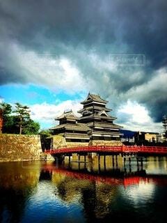 松本城の写真・画像素材[3792676]