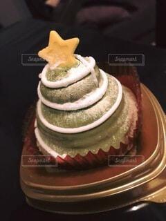 クリスマスケーキの写真・画像素材[3799930]