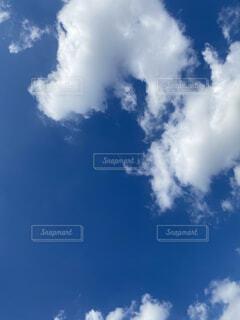 青空の雲の写真・画像素材[3801973]