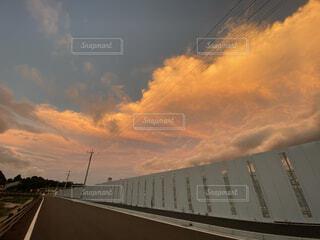 空の雲の写真・画像素材[3800605]