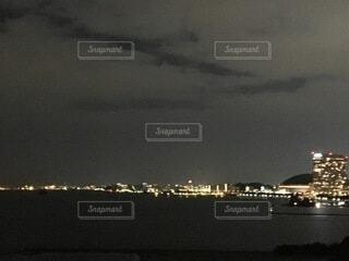 夜景×福岡の写真・画像素材[3810281]