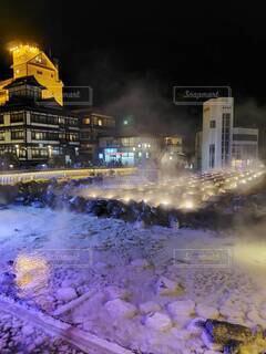 草津温泉の写真・画像素材[3805655]