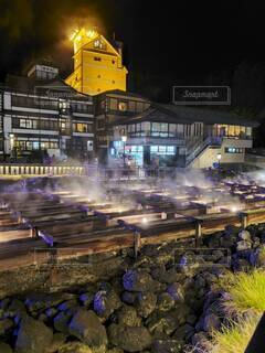 草津温泉の写真・画像素材[3806022]