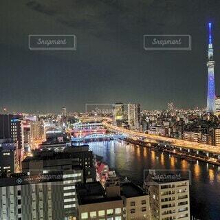 東京夜景の写真・画像素材[4451781]