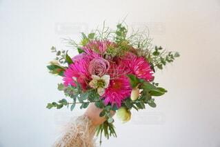 ピンクの花束の写真・画像素材[3899532]