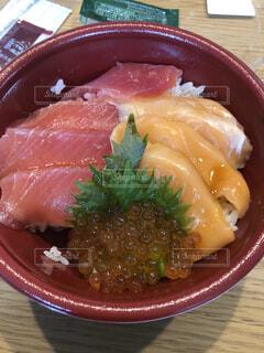 海鮮丼の写真・画像素材[3805866]
