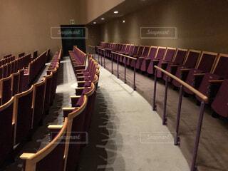 コンサートホールの観客席の写真・画像素材[3843656]