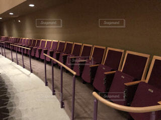 コンサートホールの観客席の写真・画像素材[3843659]