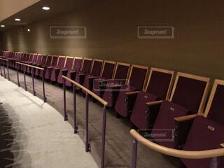 コンサートホールの観客席の写真・画像素材[3843657]