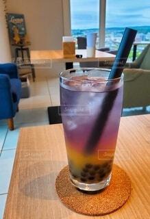 カフェでひとやすみの写真・画像素材[3841053]