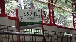 南海高野線極楽橋駅の写真・画像素材[3821944]