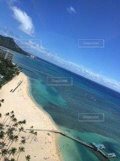 ハワイの海の眺めの写真・画像素材[3847273]