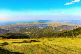 山の上の写真・画像素材[3901811]