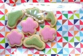 アイシングクッキーの写真・画像素材[4097838]